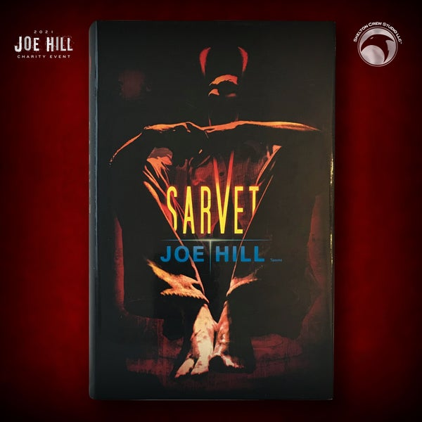 Image of JOE HILL 2021 CHARITY EVENT 30: SIGNED Horns - Finnish hardcover - 1 AVAILABLE