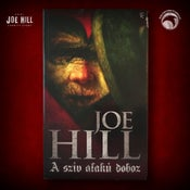 Image of JOE HILL 2021 CHARITY EVENT 32: SIGNED Heart-Shaped Box DAMAGED - Hungarian paperback - 1 AVAILABLE