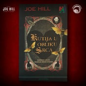 Image of JOE HILL 2021 CHARITY EVENT 33: SIGNED Heart-Shaped Box - Croatian paperback - 1 AVAILABLE