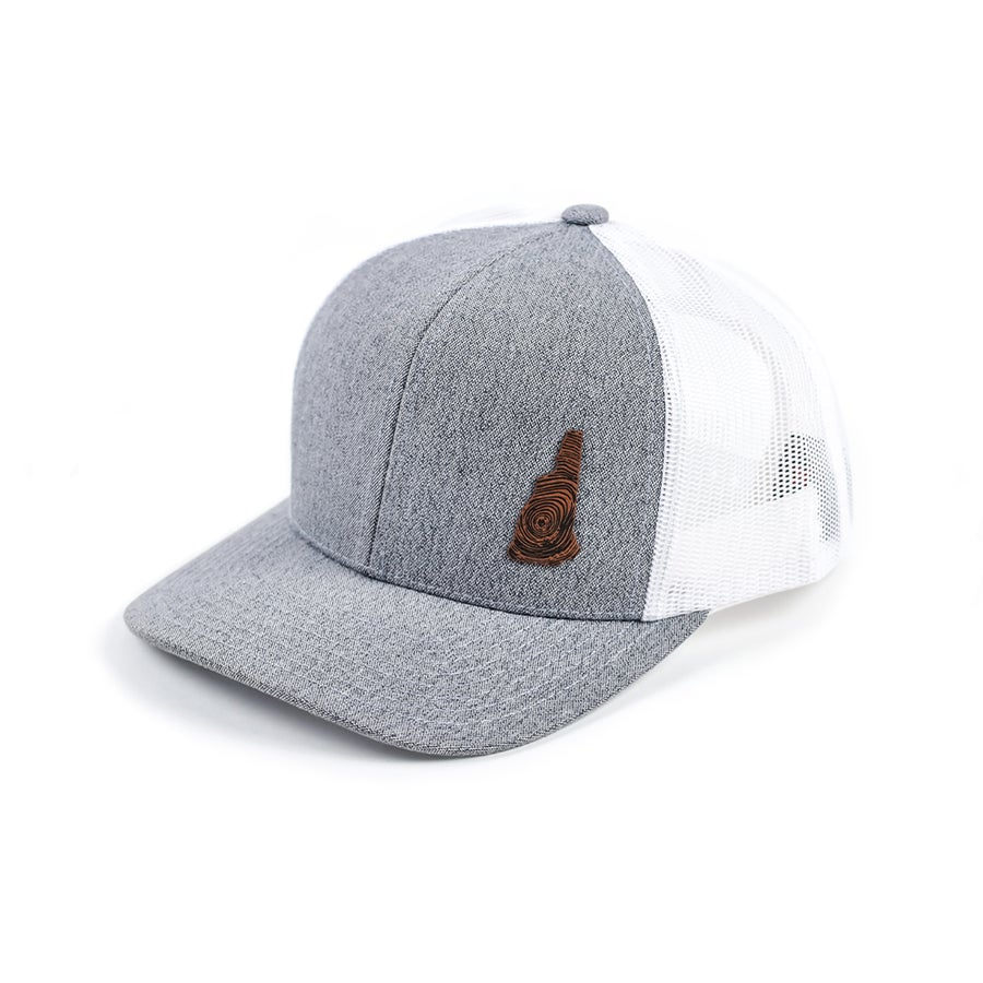Image of NH Homegrown Hat- Heather Grey/White Mesh