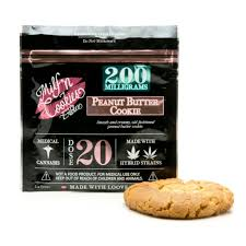 Image of 200mg Peanut Butter Cookie Edible - Milf & Cookies