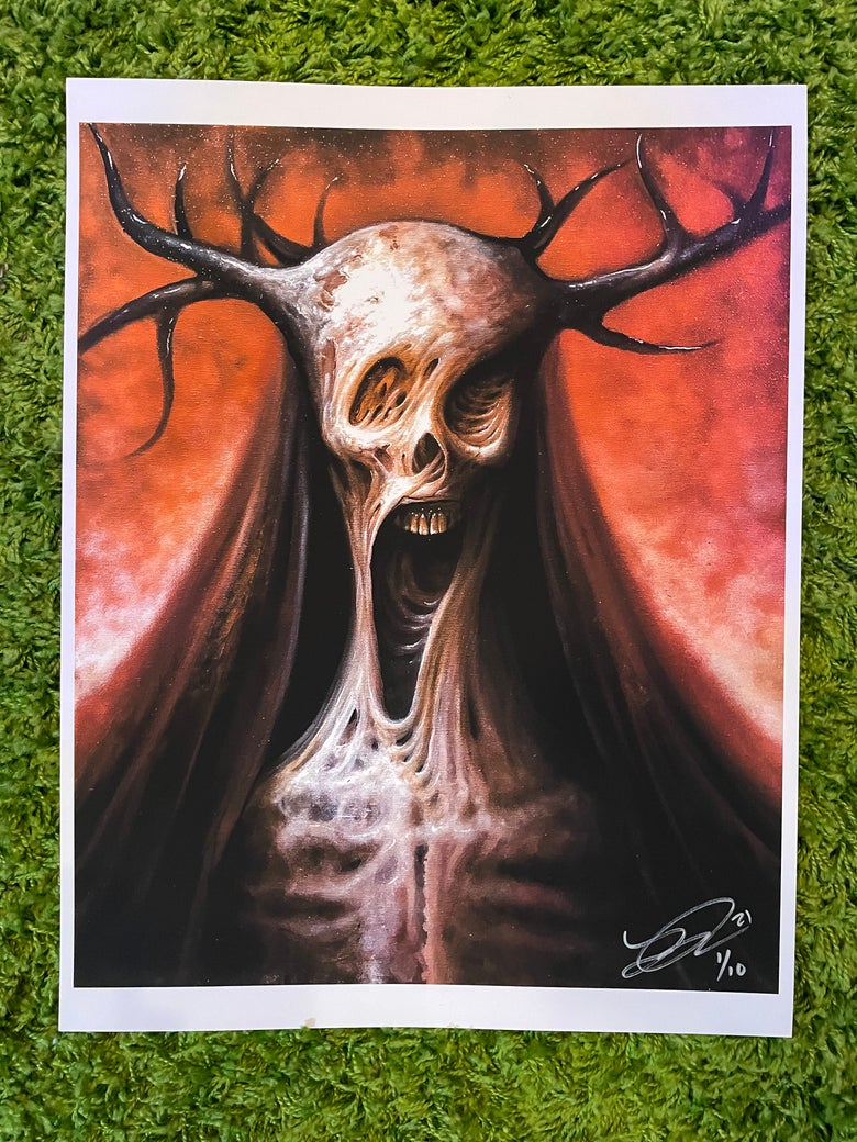 Image of The Black Shaman ( Limited Edition Print )