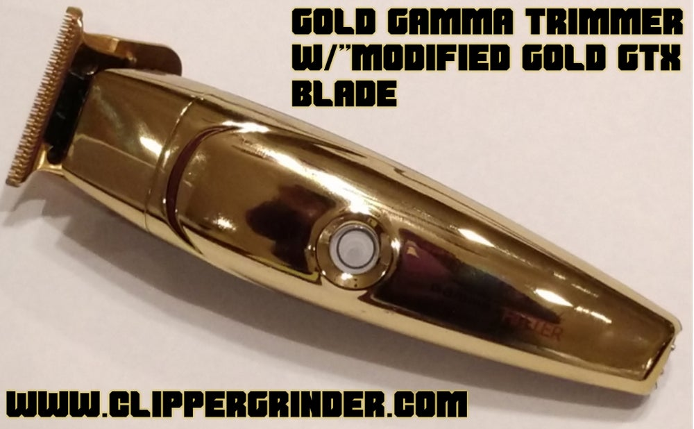 """Image of Gamma Hitter Trimmer W/Gold """"Modified"""" GTX Blade"""