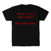 RED SHOES MEDIA-VISION SHIRT
