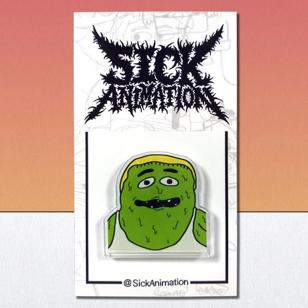 Slime Shady pin - Sick Animation Shop
