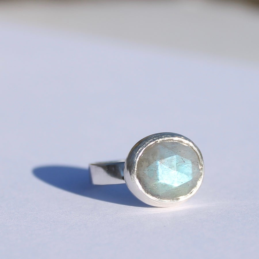 Image of Labradorite ring 5
