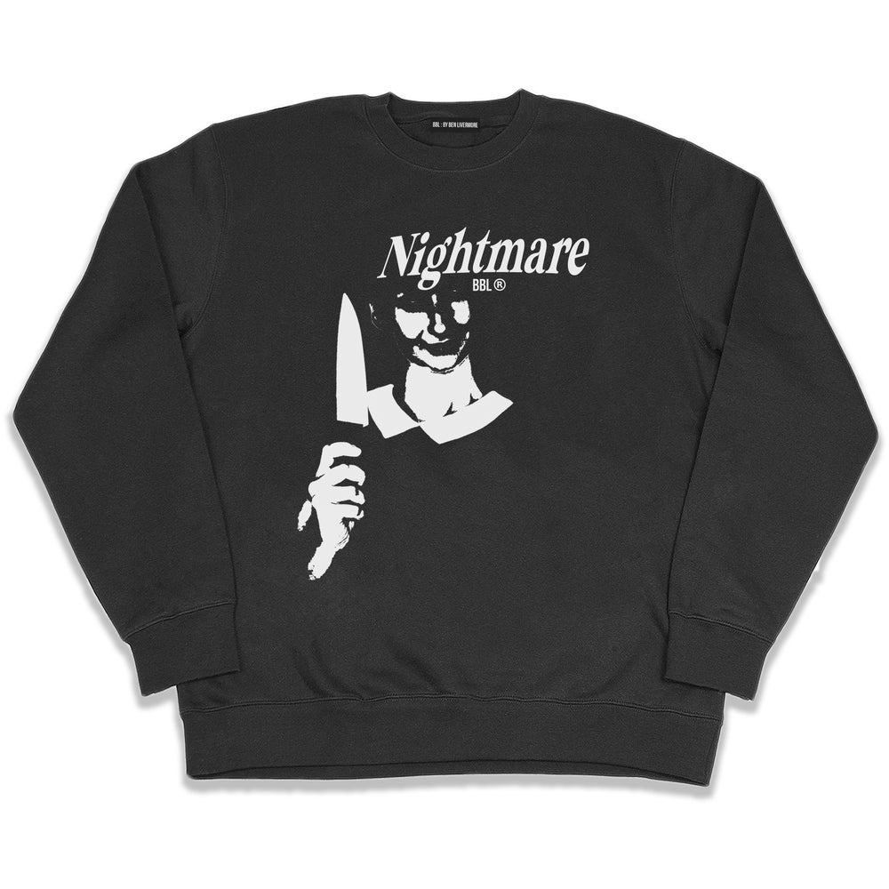 Image of Nightmare Sweatshirt (Black)