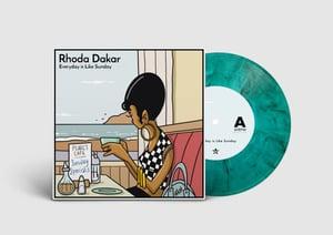 "Image of Pre-Order: Rhoda Dakar - Everyday Is Like Sunday 7"""