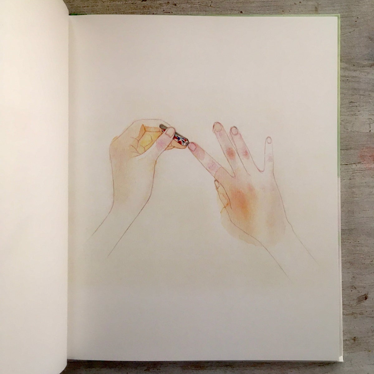 Clipped Fingernails 깎은 손톱 - at noon books