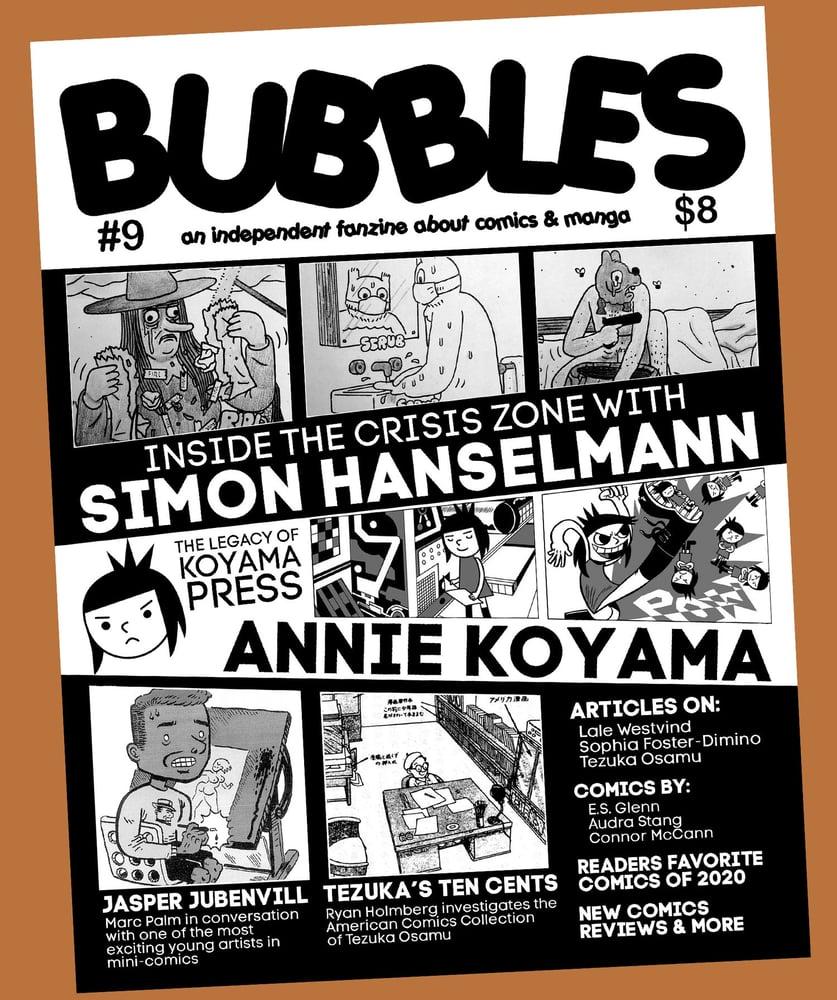 Image of Bubbles Zine #9