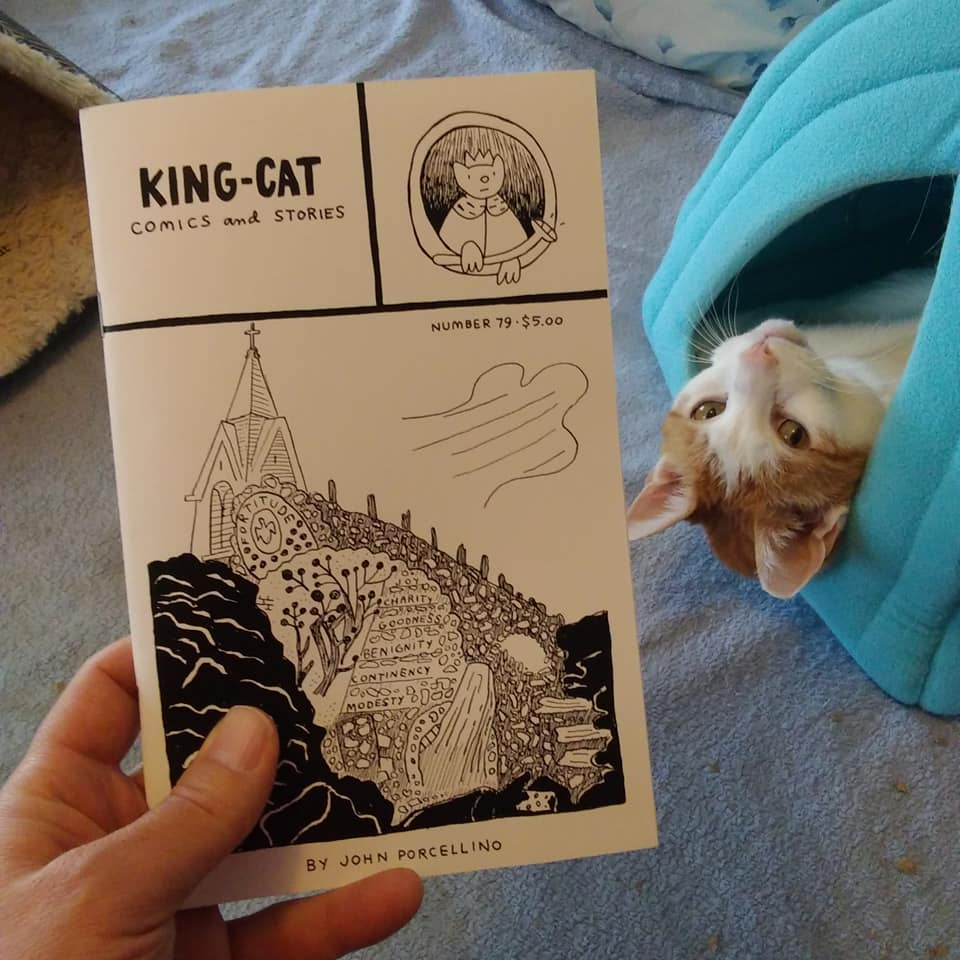 Image of King-Cat #79 by John Porcellino