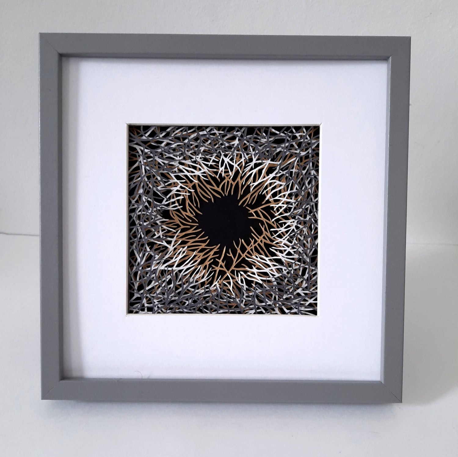 Image of Hand Cut Abstract Scene
