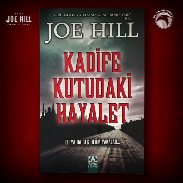 Image of JOE HILL 2021 CHARITY EVENT 36: SIGNED Heart-Shaped Box - Turkish paperback - 1 AVAILABLE