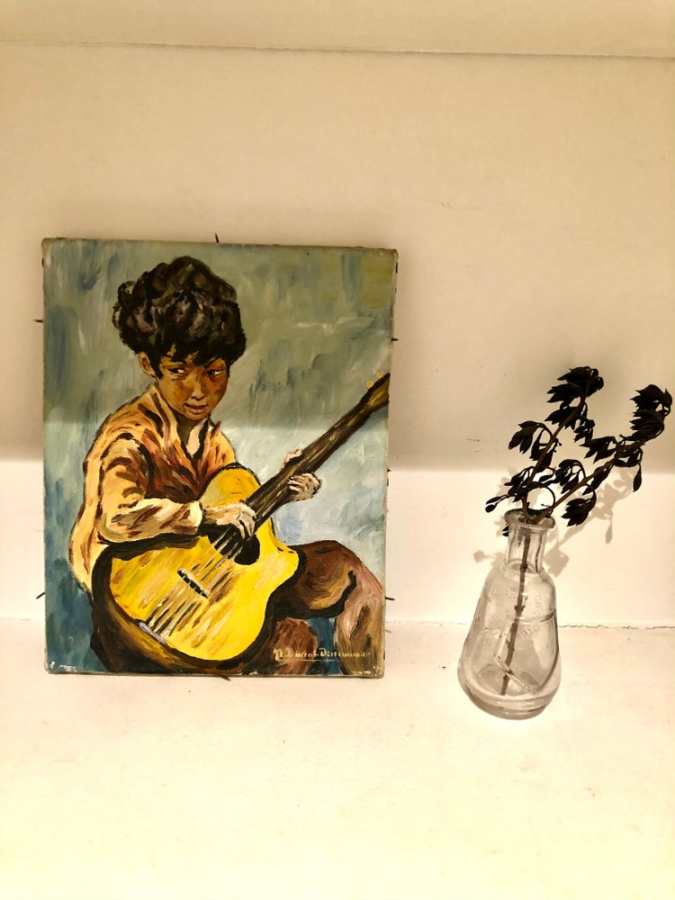 Image of L'enfant à la guitare