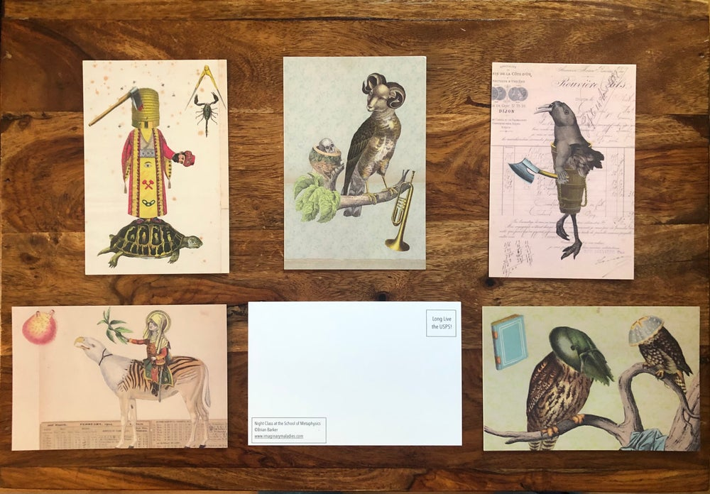 Image of Set of 5 Postcards