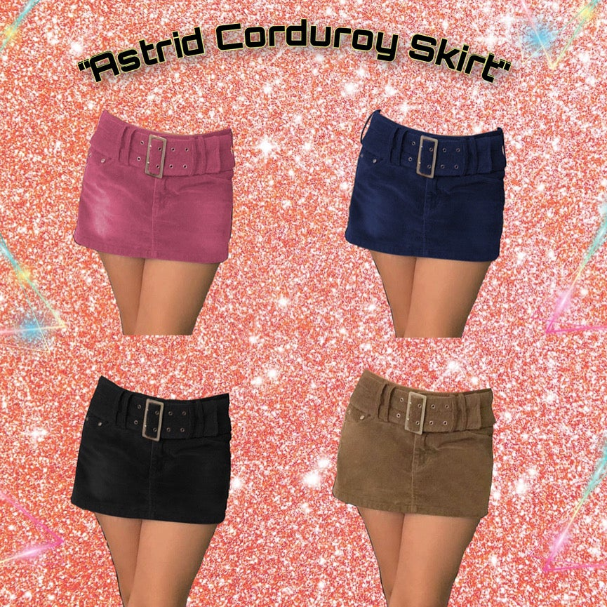 Image of Astrid Corduroy Skirts