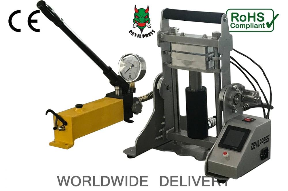 Image of Devil Press™ DP15 + Triple 15 Ton Manual Triple Plate Rosin Press