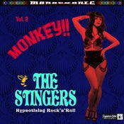Image of LP. The Stingers : Monkey 'Hynotising Rock 'n' Roll'