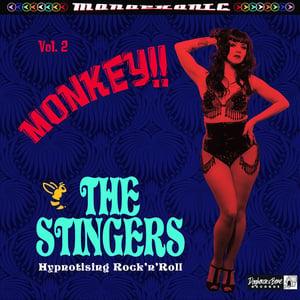 Image of LP. The Stingers : Monkey 'Hynotising Rock 'n' Roll'