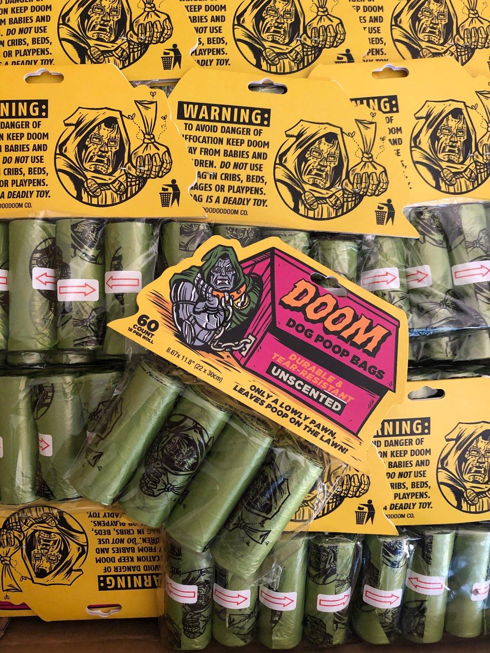 RR #127 DOOM Brand Poop Bags art by Phil Guy