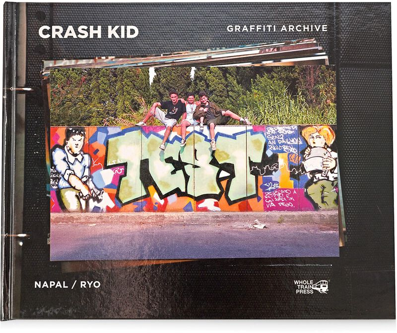 Image of CRASH KID book graffiti