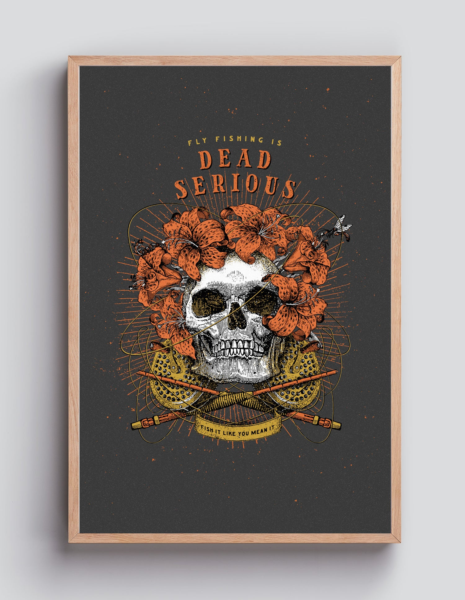 Image of Dead Serious– 40×60