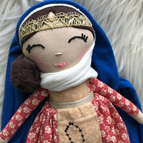 Image of Queen of the Rosary Doll