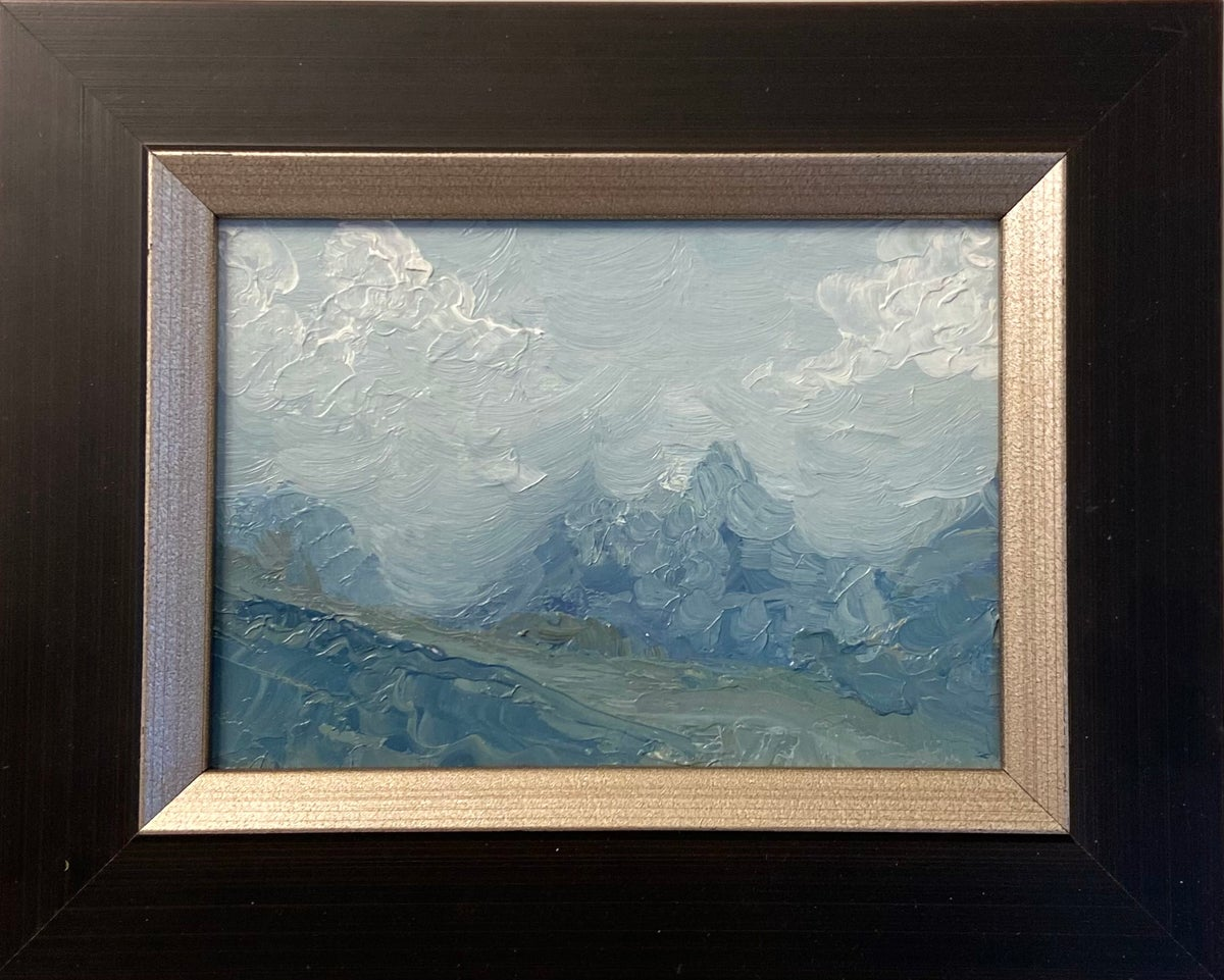 Image of Abstract Landscape Oil