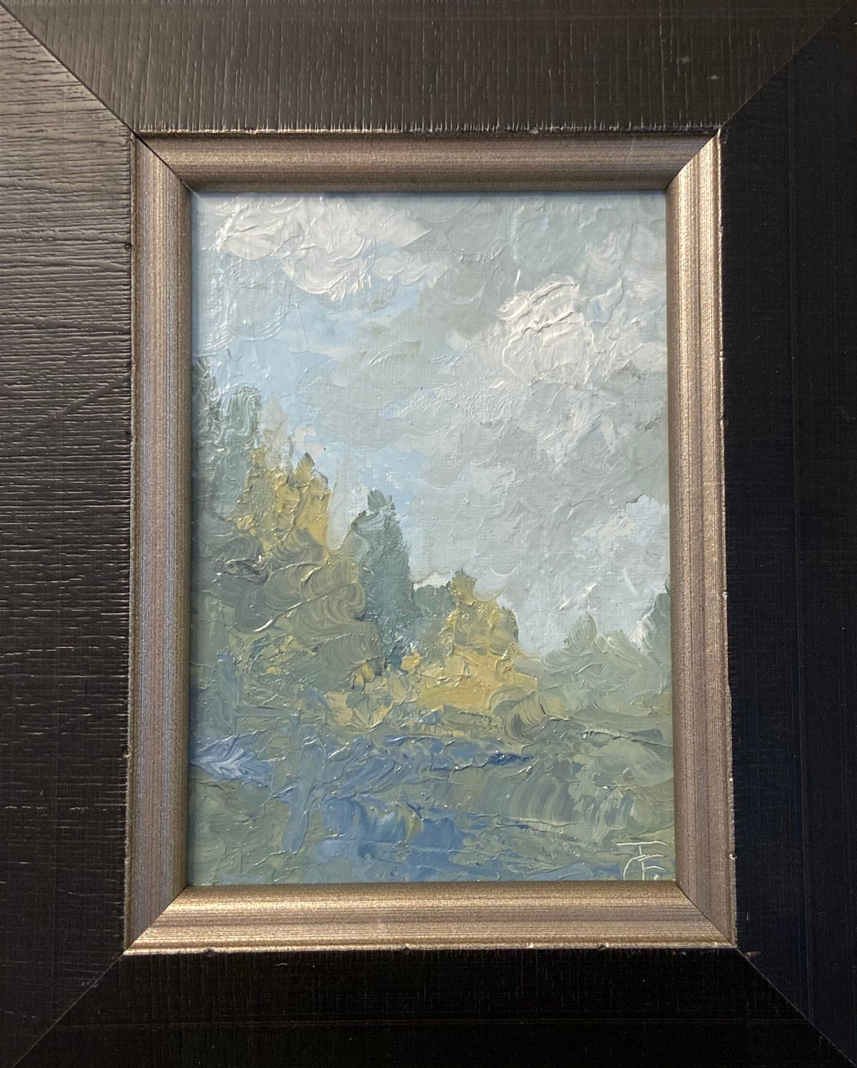 Image of Abstract Landscape Oil 2