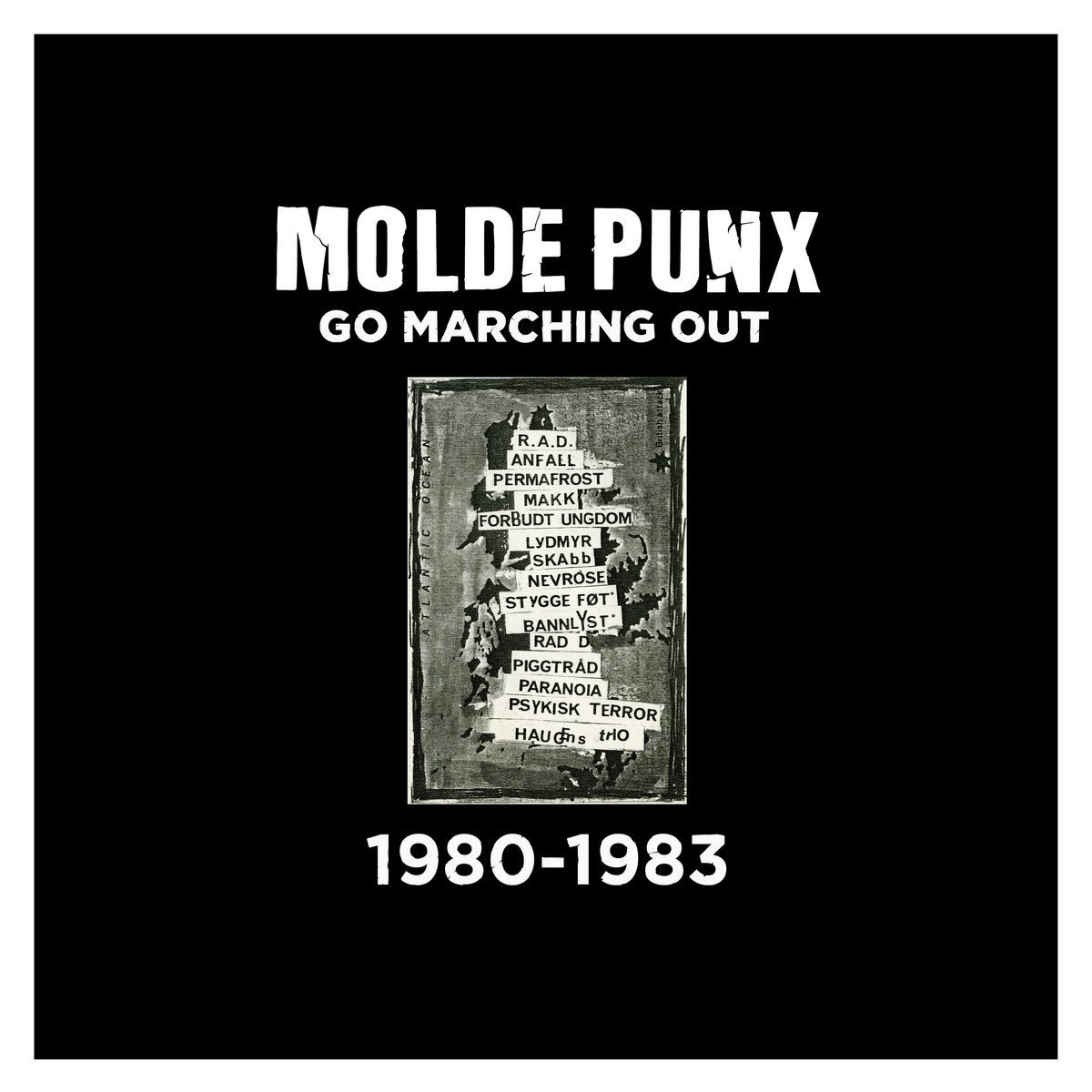 Image of V/A - Molde Punx Go Marching Out: 1980-1983 2xLP