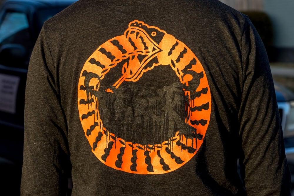 Image of Tarck Black Metal Long Sleeve Shirt