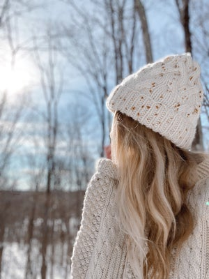 Image of Knitting Pattern - Omemee Cable Toque