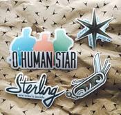 Image of O Human Star sticker set (NEW)
