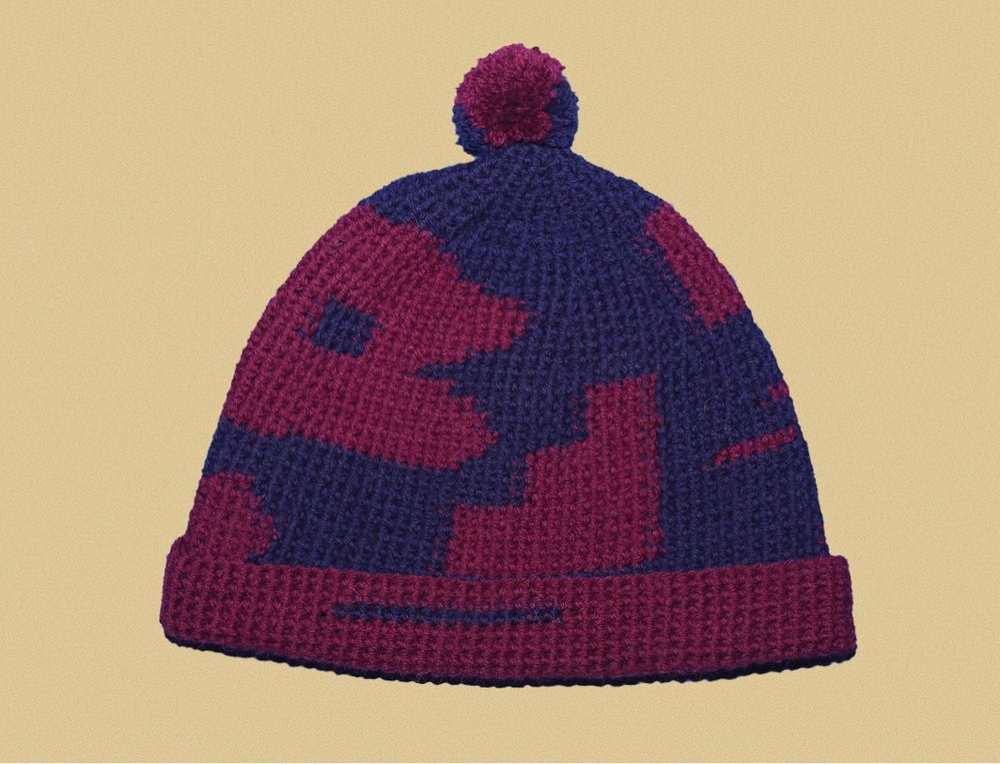 Image of VINE AND DARK BLUE CAP