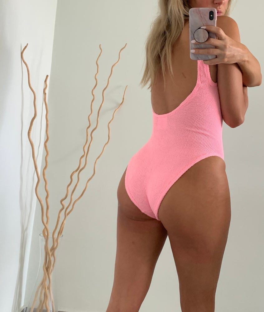 Image of Bubblegum Pink Classic Onepiece