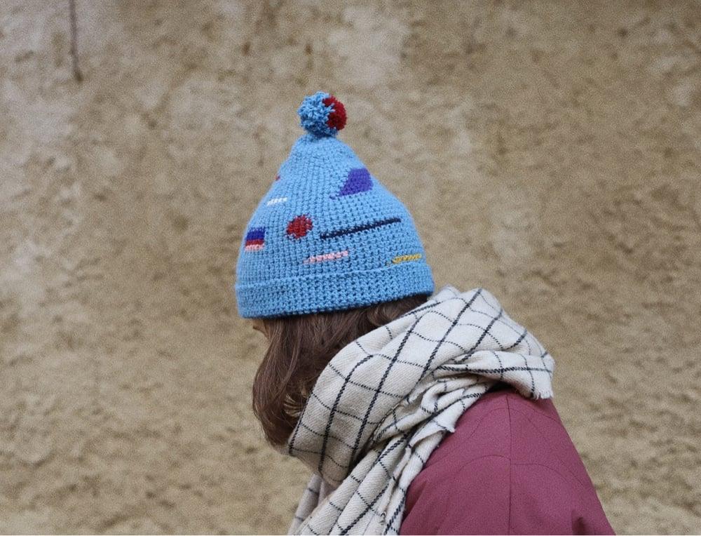 Image of BRIGHT BLUE CAP