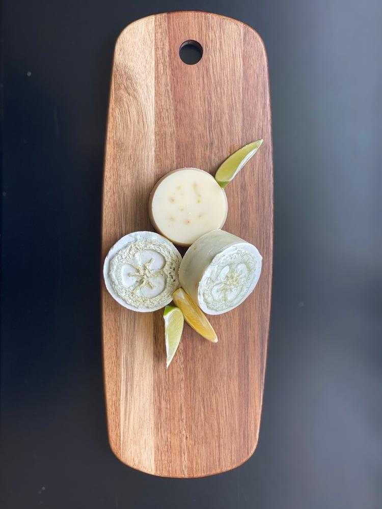 Image of Lemon Lime Loofa Bar