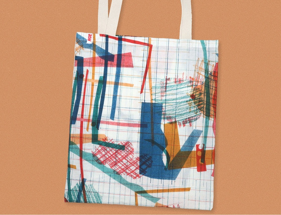 Image of COLOR COLLAGE BAG
