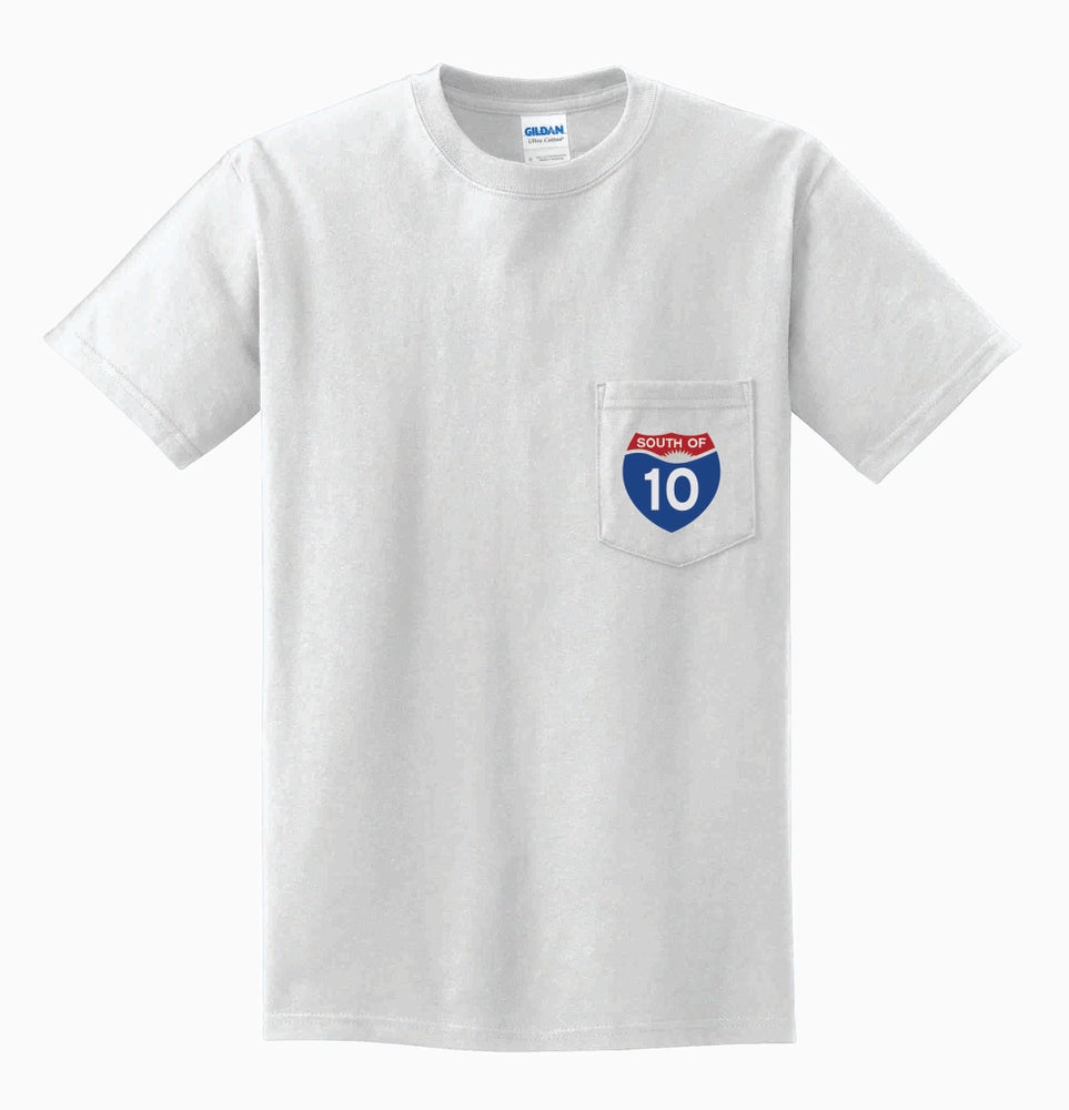 Image of South of 10 Pocket Tee