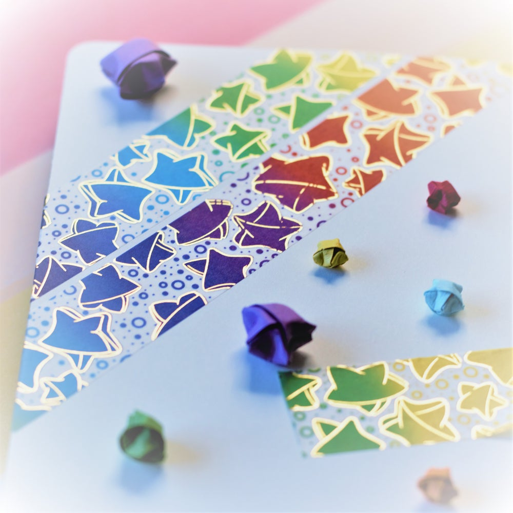 Image of Rainbow Wishes Washi Tape