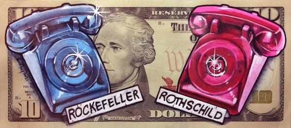 Image of Real 10 Dollar Original. Rat Phone.