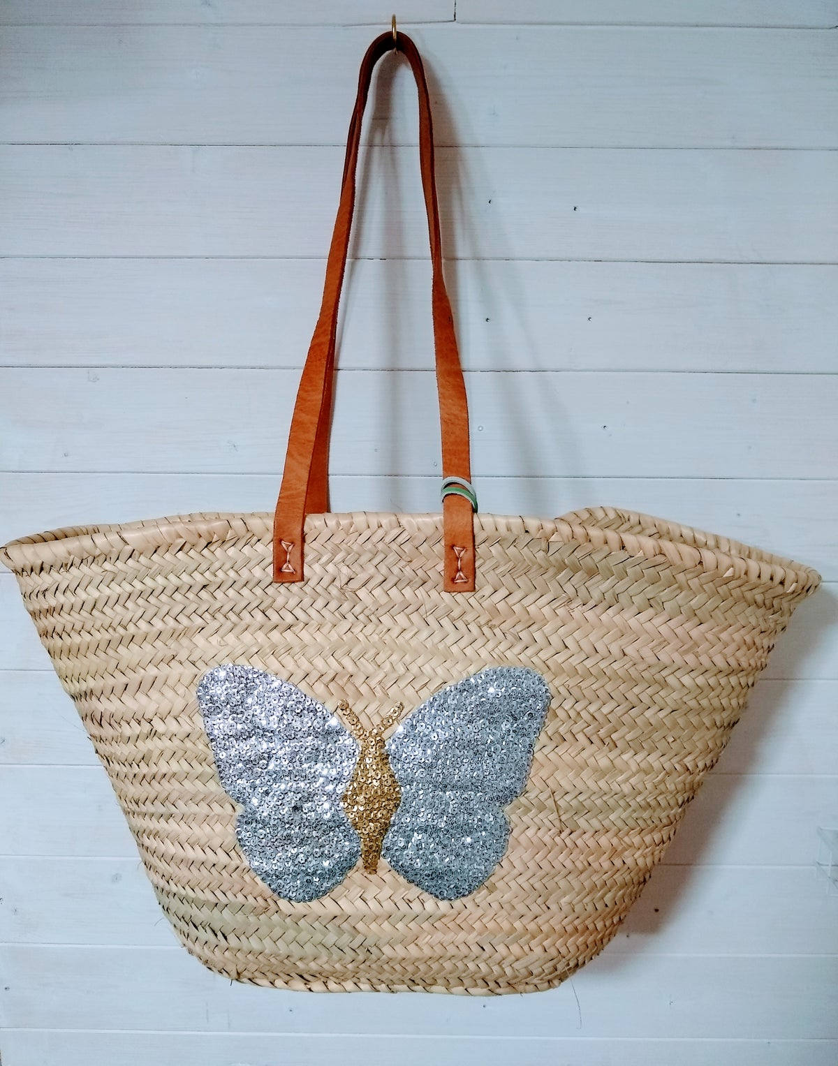 Image of Frenchie Basket Bag- Seconds