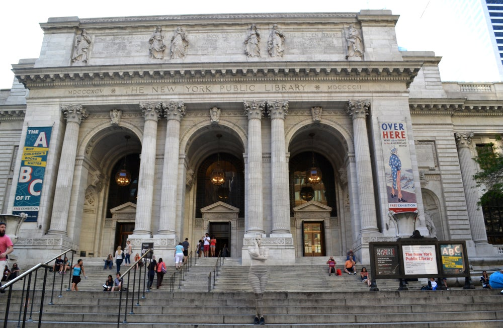 Image of New York Library