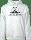 White Hoodie w/ AWK Logo