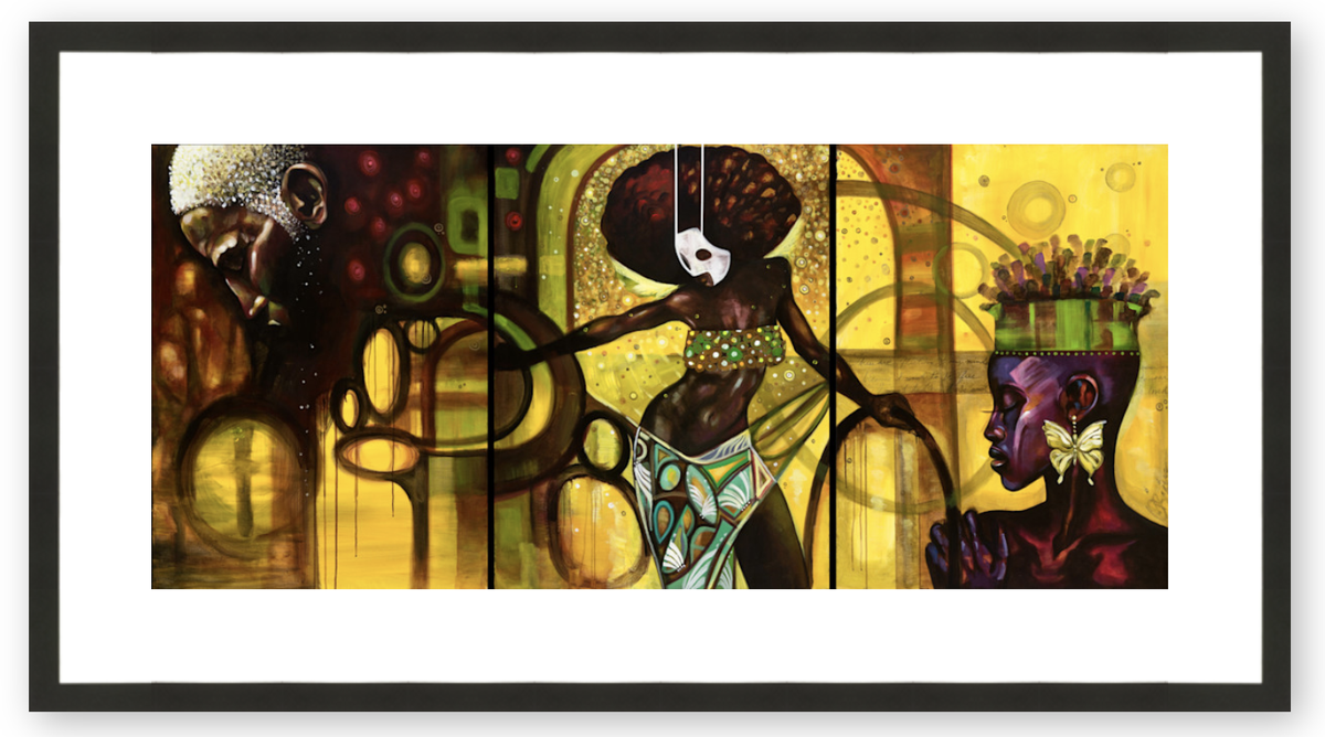 When My Soul Dreams - Framed & Ready to Hang