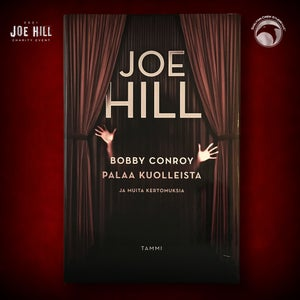 Image of JOE HILL 2021 CHARITY EVENT 46: SIGNED 20th Century Ghosts - Finnish hardcover - 5 AVAILABLE