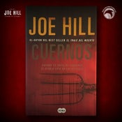Image of JOE HILL 2021 CHARITY EVENT 55: SIGNED Horns - Spanish paperback - 3 AVAILABLE