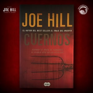 Image of JOE HILL 2021 CHARITY EVENT 55: SIGNED Horns - Spanish paperback - 1 AVAILABLE
