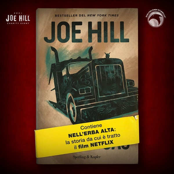 Image of JOE HILL 2021 CHARITY EVENT 58: SIGNED Full Throttle - Italian hardcover - 2 AVAILABLE