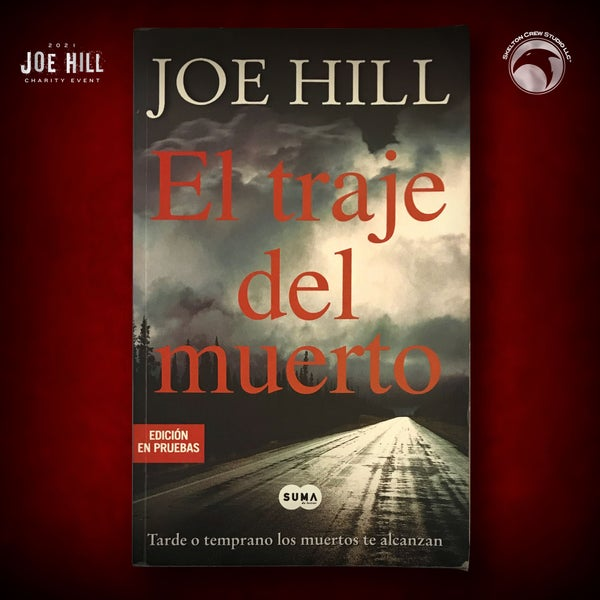 Image of JOE HILL 2021 CHARITY EVENT 59: SIGNED Heart-Shaped Box - Spanish paperback PROOF - 1 AVAILABLE